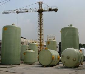 遵义新火车站片区棚户区改造工程四号还房建设项目三标段(A区)工程-玻璃钢化粪池