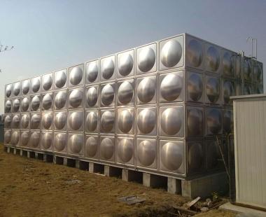 宏明大厦——不锈钢拼装水箱