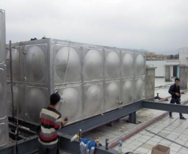 安顺供电局——100T不锈钢水箱