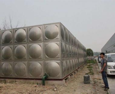 晴隆塘边寨——190T不锈钢拼装水箱
