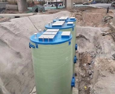 贵州一体化泵站-雨水收集系统